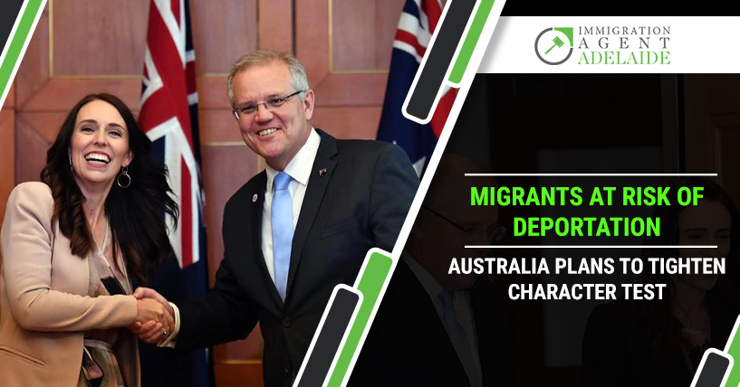 Migrants at Risk of Deportation – Australia Plans to Tighten Character Test
